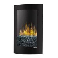 Dimplex Convex Electric Fireplace Wall Mount, VCX1525, Black