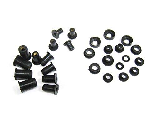 Moto-777 Complete Black Bolt Kit Body Screws for Yamaha