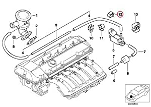 Amazon.com: 4 X BMW Genuine Air Pump Vacuum Cable Harness