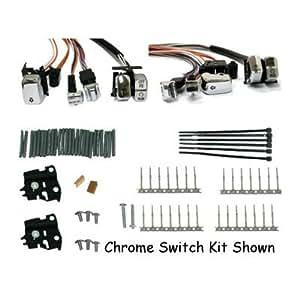 Amazon.com: BKrider LED Chrome Handlebar Switch Kit for