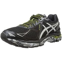 ASICS Men's Gt-2000 3 Trail Running Shoe,Black/Lightning/Lime,11 M US