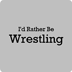 Amazon.com: I'd rather be wrestling....Wrestling Wall