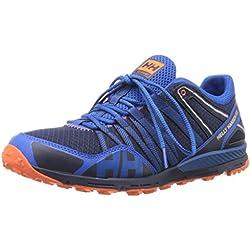 Helly Hansen Men's Terrak Trail Running Shoe, Evening Blue/Cobalt Blue, 11 M US