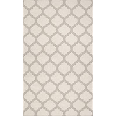 ad3817da46 Cheap 8′ x 11′ Rectangular Surya Area Rug FT120-811 Snow White Color  Flatwoven in India  Frontier Collection  Comparison