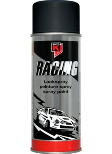 Auto-K Racing schwarz seidenglanz Lack Spray 400 ml