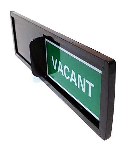 Privacy Sign Vacant Occupied Slide Easy Install Rest Room