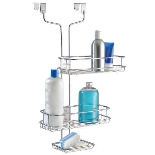 InterDesign Linea Over The Door Adjustable Shower Caddy