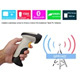 Koolertron® UPGRADED 3 Mil Bluetooth Wired And Wireless Laser Barcode Scanner For Android/IOS/Windows XP/7/8/CE/Iphone/Galaxy/Ipad