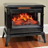 Amazon.com: Jackson Black Infrared Electric Fireplace ...