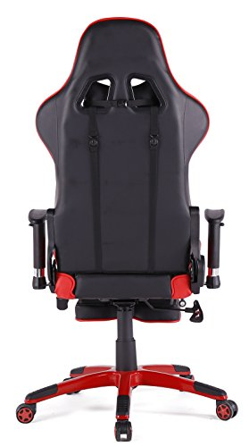 ergonomic chair amazon india computer covers walmart top gamer gaming high back swivel office with footrest adjusting ...