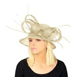 Hats By Cressida Beautiful Kentucky Derby Bow and Biot Hat Women
