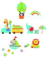 Funtosee Fisher Price Rainforest Nursery Wall Stickers ...