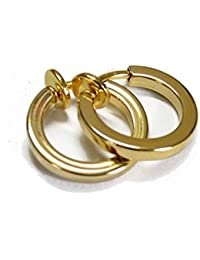 Amazon.in: Gold - Earrings / Men: Jewellery