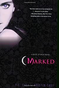 """Cover of """"Marked (House of Night, Book 1)..."""