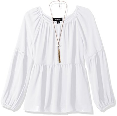 Amy-Byer-Girls-Big-Girls-Solid-Chiffon-Long-Sleeve-Peasant-Top-White-Small