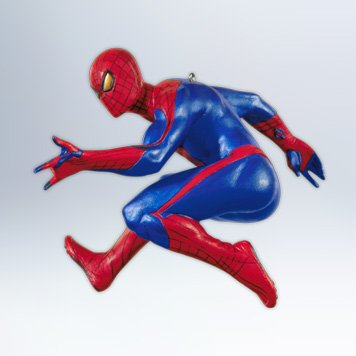 Spiderman Christmas Ornament