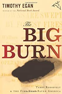 """Cover of """"The Big Burn: Teddy Roosevelt a..."""