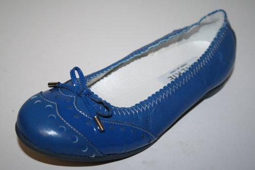 Cherie Kinder Schuhe Mädchen Ballerinas 7747, Blau (blau), EU 32 (ohne Karton)