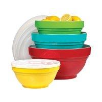 Melamine Mixing Bowl Set with Lids, 4 Pieces (887421000587 ...