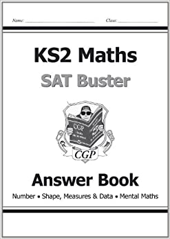 KS2 Maths SAT Buster Answer Book (Number Shape, Measures