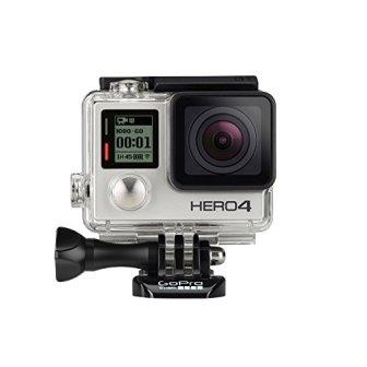 GoPro HERO4 Silver Edition Adventure - Videocámara deportiva (12 Mp, Wi-Fi, Bluetooth,...