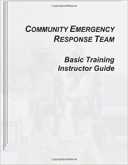 Community Emergency Response Team Basic Training
