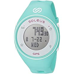 Soleus Women's SG011-345 GPS One Digital Display Quartz Green Watch