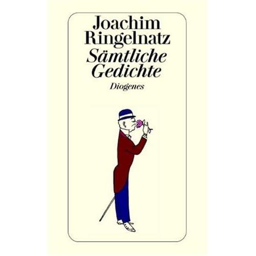 Cover Joachim Ringelnatz, Sämtliche Gedichte, Diogenes