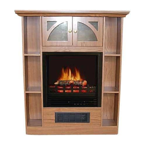 Best Price 750 1500w Flametec Electric Fireplace Heater Qcm925
