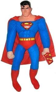 Amazon.com: Large Superman Plush Doll - 21in Superhero Plush: Toys & Games