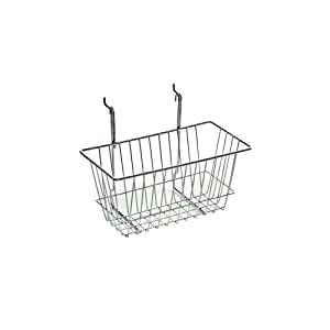 Amazon.com: Azar 300620 Wire Basket, Chrome, Small: Home