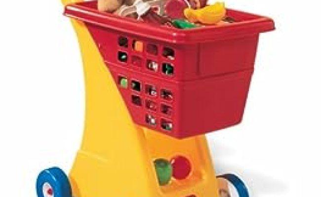 Amazon Little Tikes Shopping Cart Yellow Red Toys