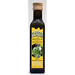 Mt. Kofinas Infused Extra Virgin Olive Oil - Garlic Mediterranean 250ml, 8.5oz