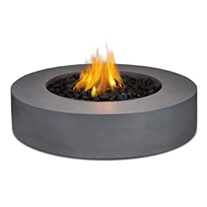 Amazon.com: Real Flame Mezzo Round Propane Fire Pit/Table