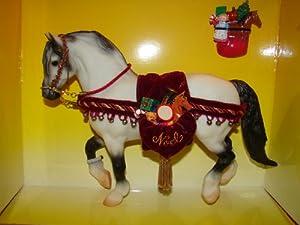 Amazon.com: Breyer Horse- 1999 Holiday Horse- 700499 Jack Frost: Toys & Games