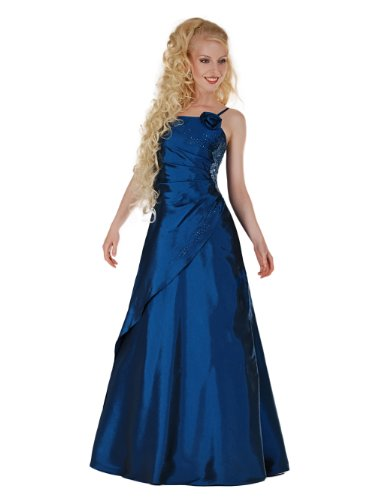 Envie/Paris - 1009 SOPHIA Abendkleid Ballkleid 1-teilig in Blau Gr.50 / 165cm
