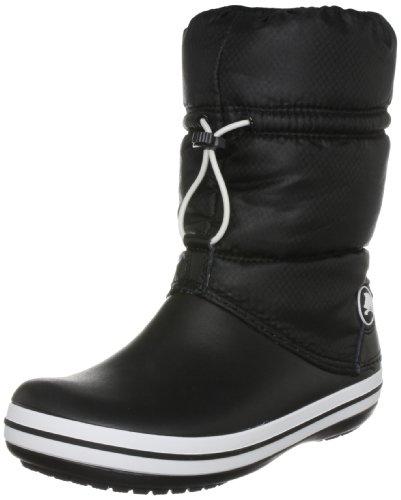 crocs 11035 Crocband Winter Boot, Damen Stiefel, Schwarz (Black/Black bzw. Blk/Blk), EU 38/39, (US W8)