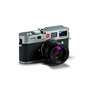 Leica M9 18MP Digital Range Finder Camera (Steel Gray, Body Only)