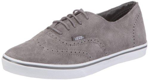 Vans U AUTHENTIC LO PRO (SdeOxfd)gg/twt VGYQ58U, Unisex - Erwachsene Sneaker, Grau ((Suede Oxford) gargoyle/true white), EU 39 (US 7)