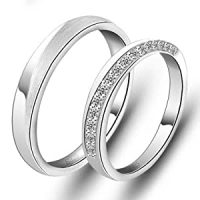 Amazon.com: Name Inscribed Promise Rings for Girlfriend ...