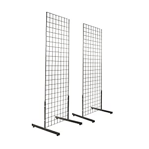 Amazon.com: 2' x 6' Gridwall Panel Tower with T-Base