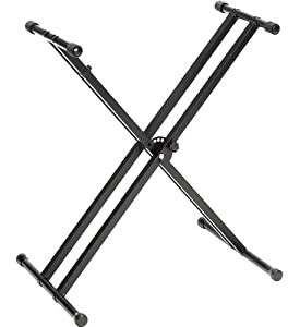 Amazon.com: Yamaha PKBX2 Double X Portable Keyboard Stand