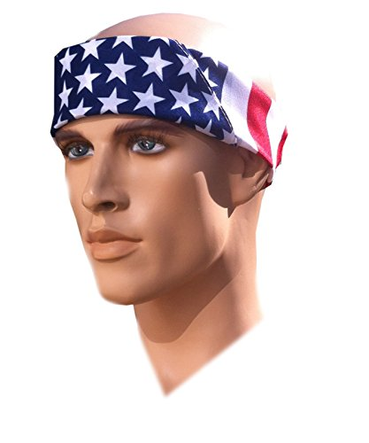Team USA Apparel American Flag Bandana Headband US Bandana For Men USA Flag