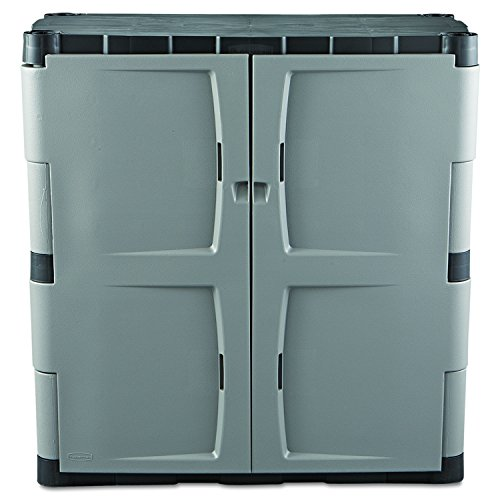 Rubbermaid Resin Storage Cabinet Base FG708500MICHR New