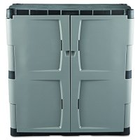 Rubbermaid Resin Storage Cabinet, Base (FG708500MICHR) New ...
