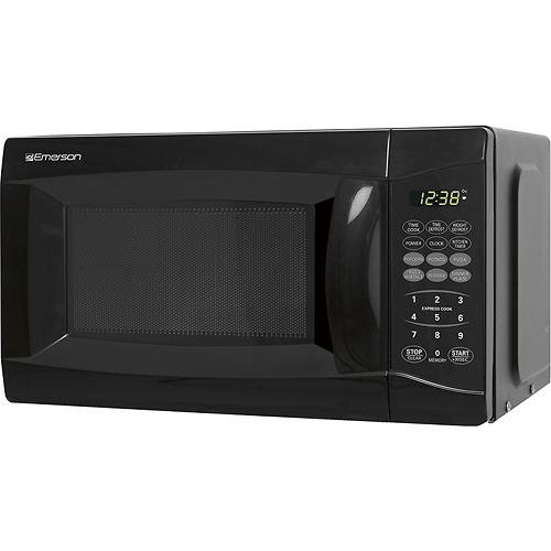 cheap emerson 0 7 cu ft 700 watt microwave stainless steel black buy microwave ovens