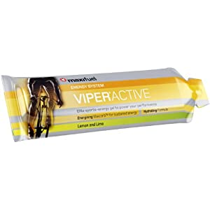 Maxifuel Viper Active Gels Lemon & Lime 70 g (Pack of 24)