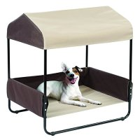 "26"" Indoor/Outdoor Pet Bed With Canopy Furniture Furniture"
