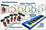 Piano Wizard Academy - Learn to Play Piano While Playing a Game - With 49 Key Midi Professional Digital Keyboard