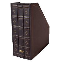 Storage Magazine Rack - Brown Magazine File Holder - Book ...